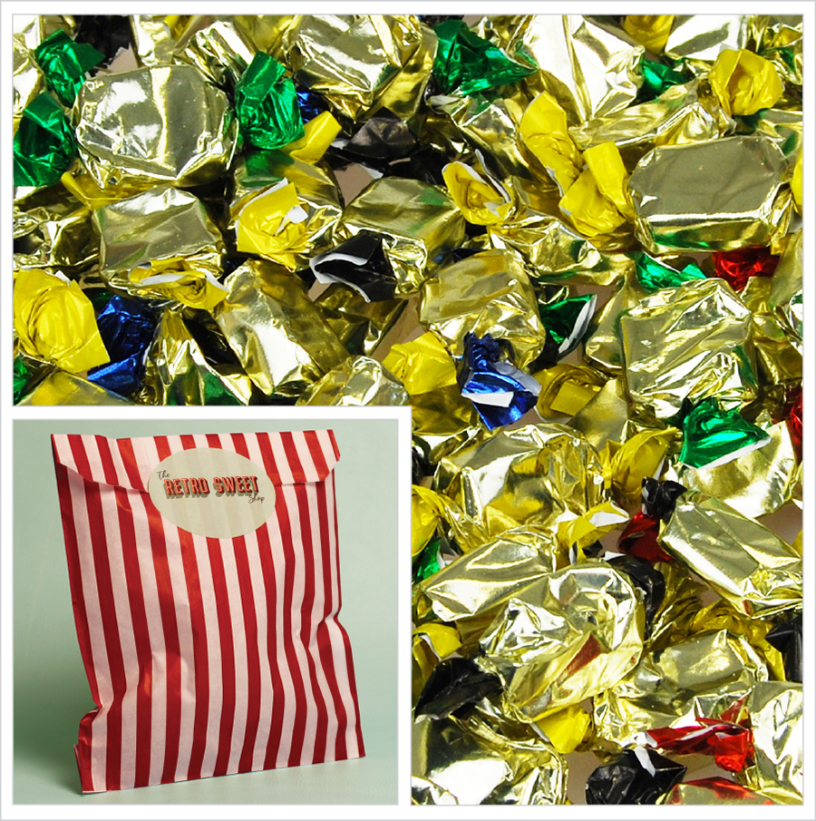 Assorted Toffees Sweet Bag