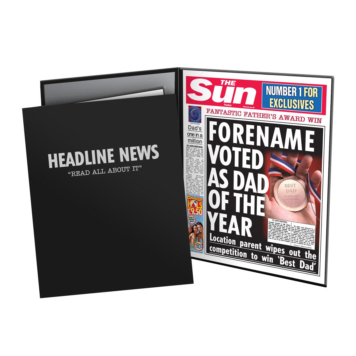 The Sun Best Dad News Folder