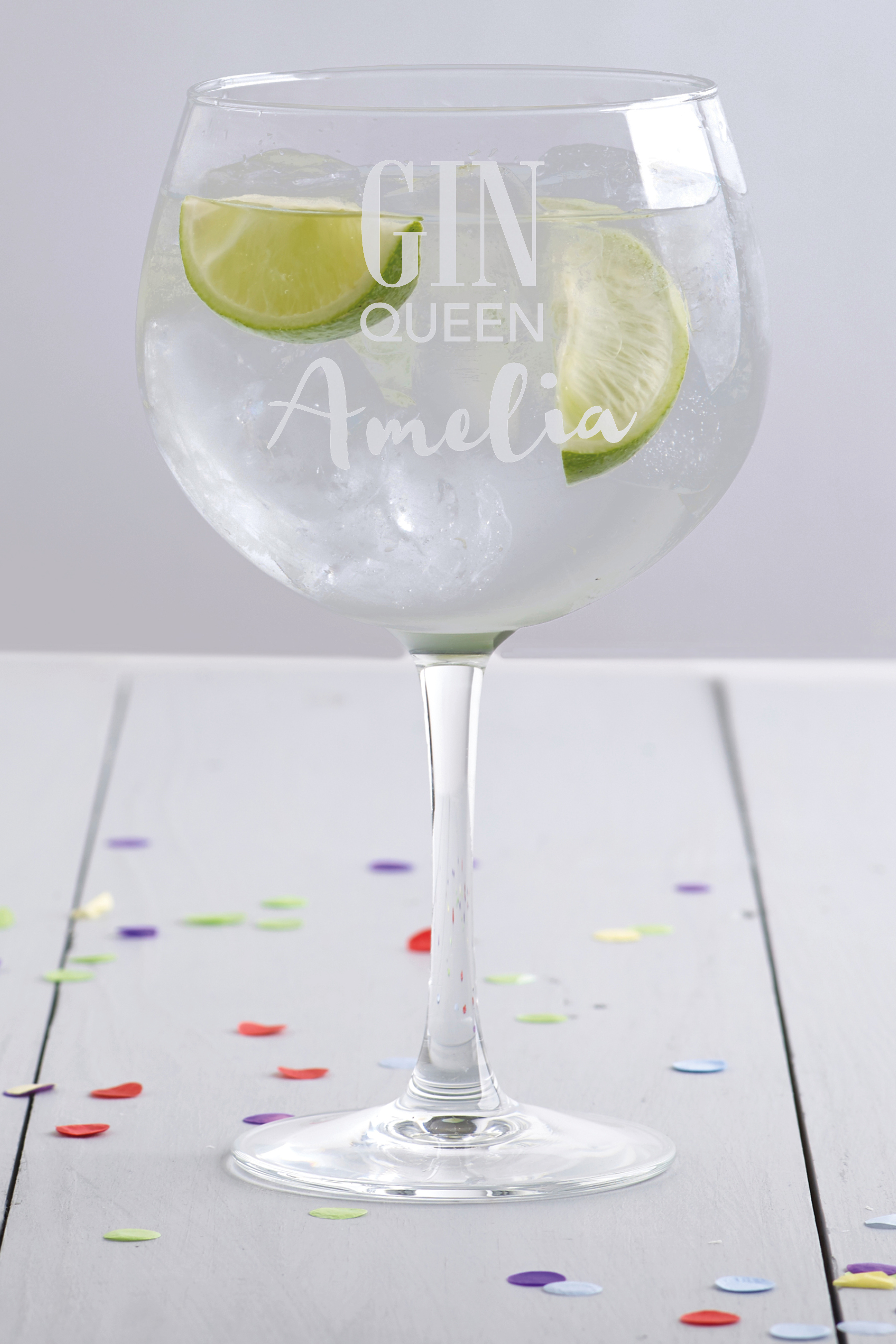 Gin Queen Gin Glass