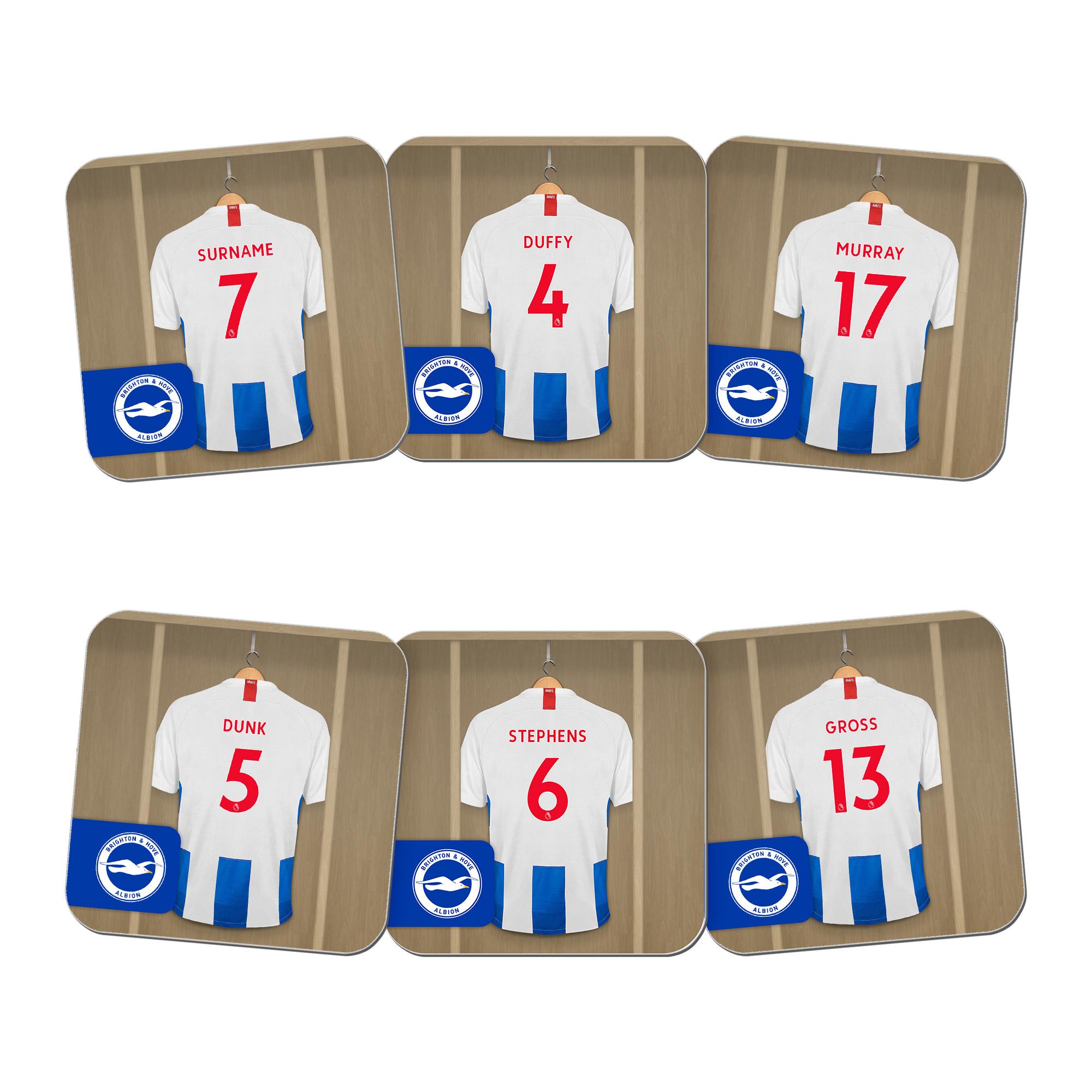 Brighton & Hove Albion FC Dressing Room Coasters