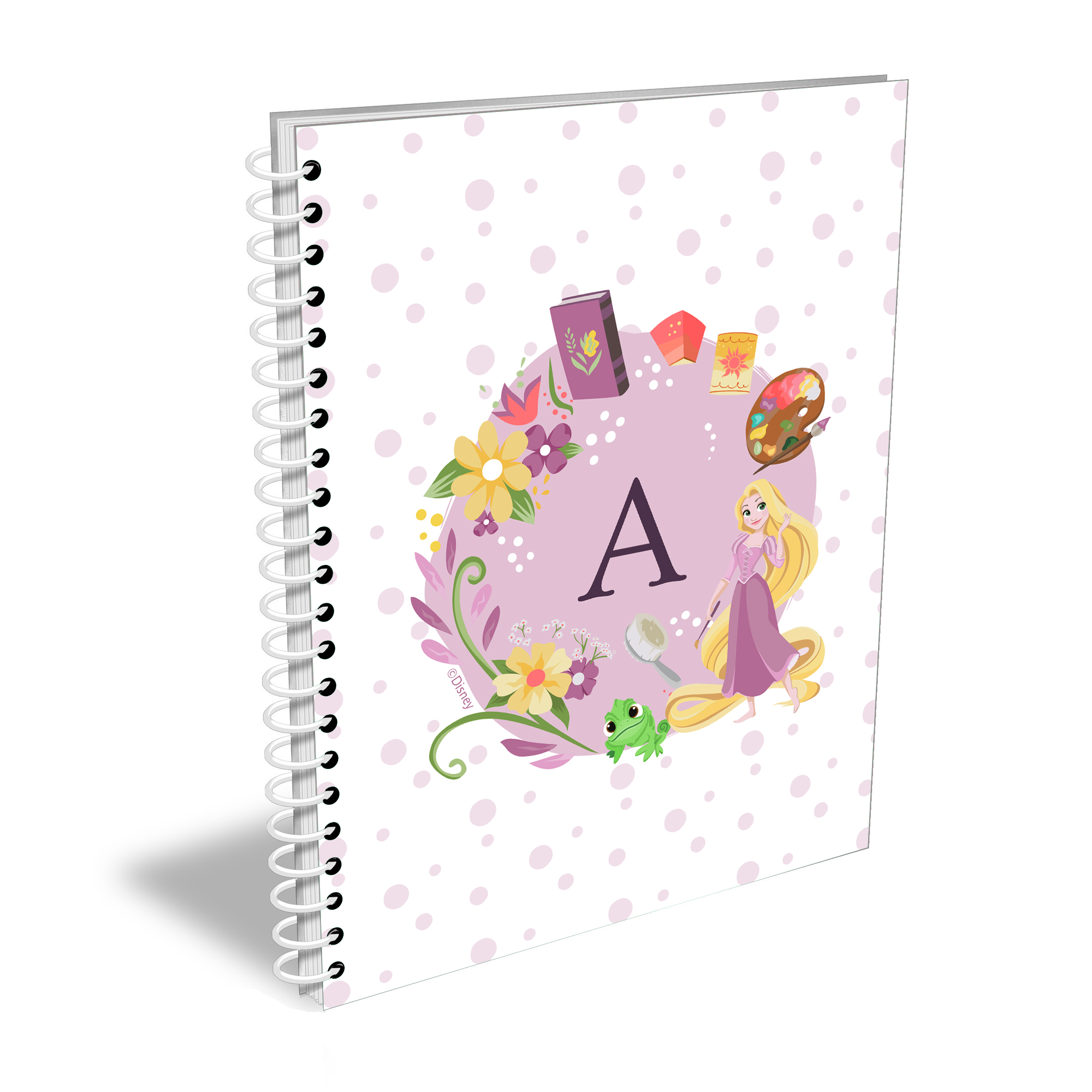 Disney Princess Rapunzel Initial A5 Notebook