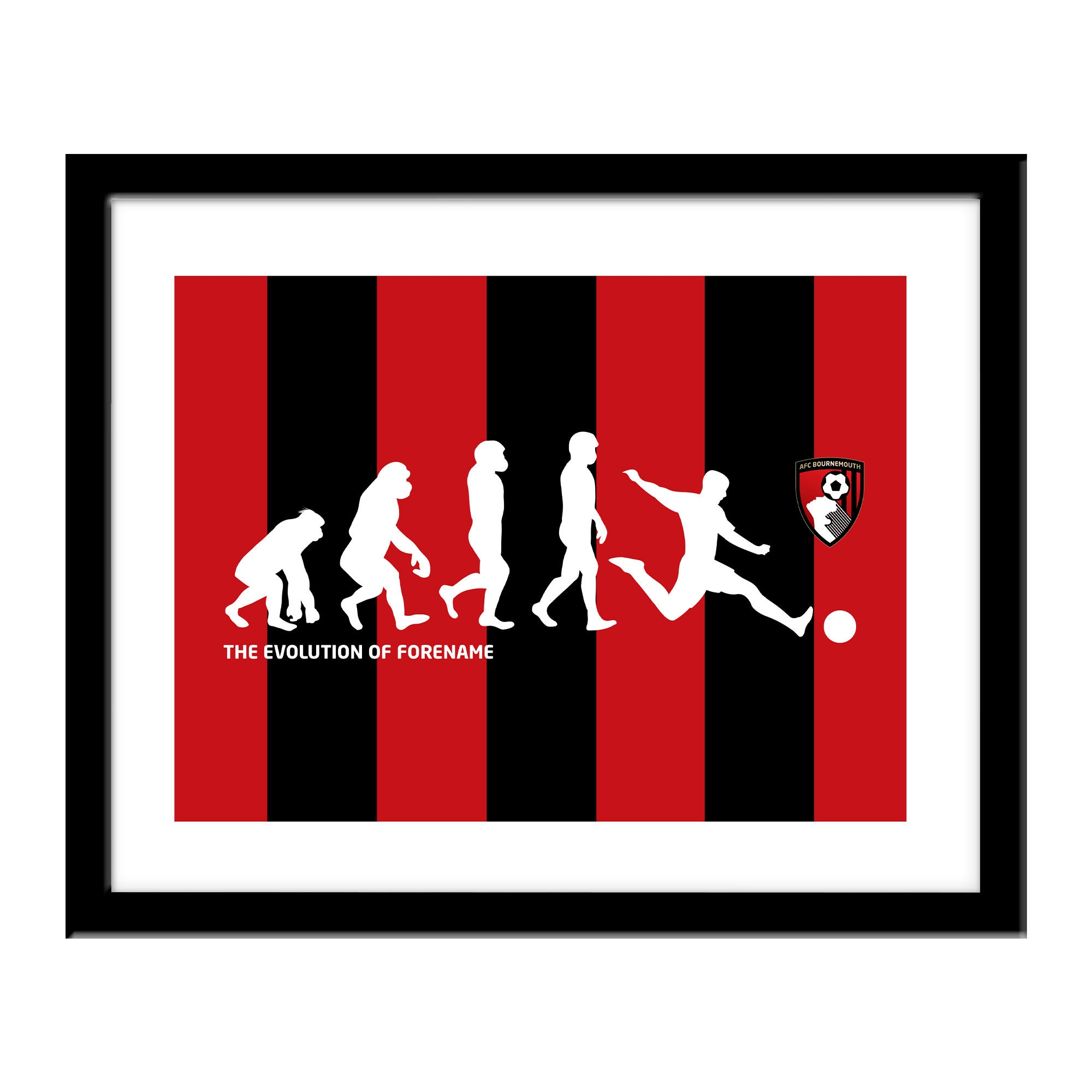 AFC Bournemouth Evolution Print