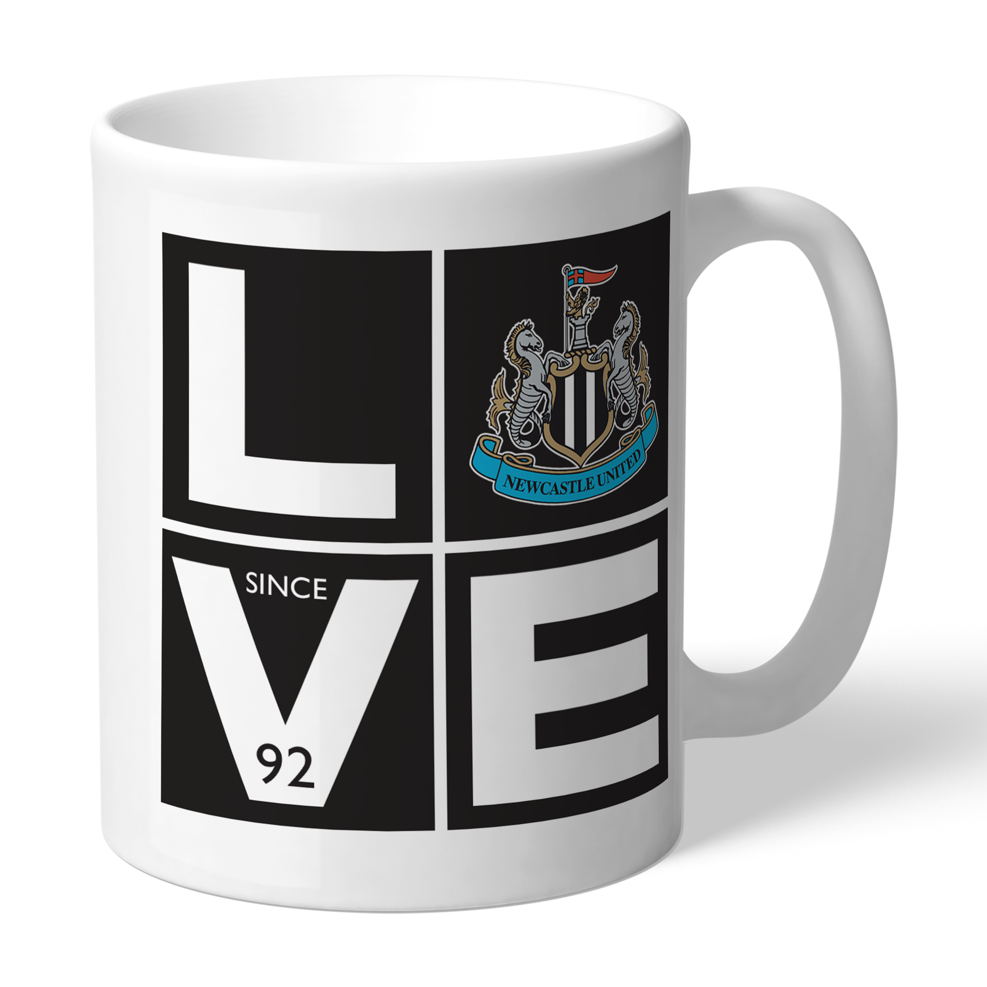 Newcastle United FC Love Mug