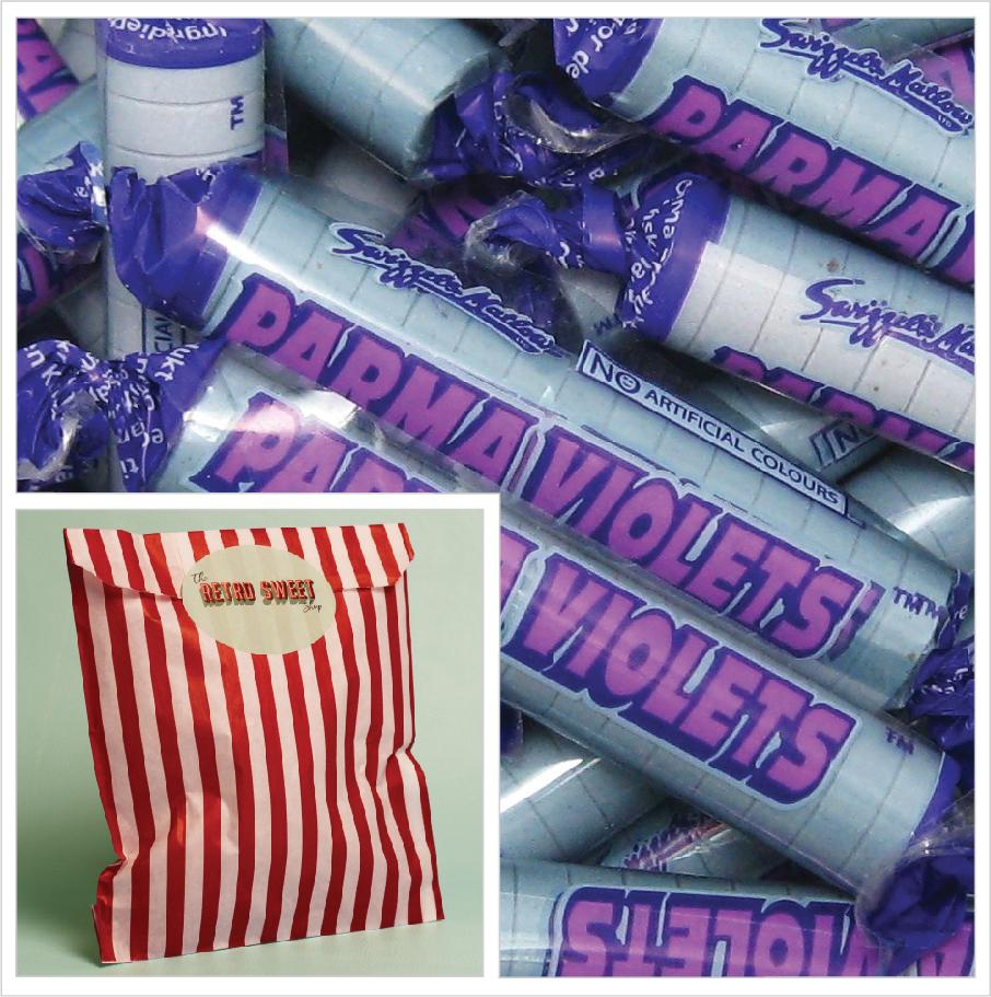 Parma Violets Sweet Bag