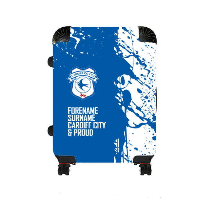 Cardiff City FC Proud Medium Suitcase