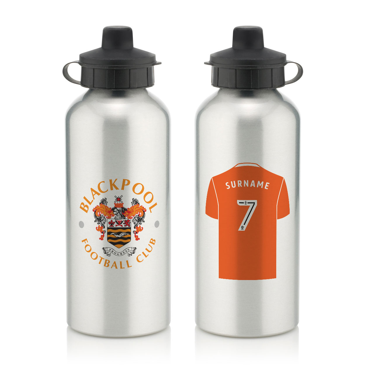Blackpool FC Aluminium Water Bottle