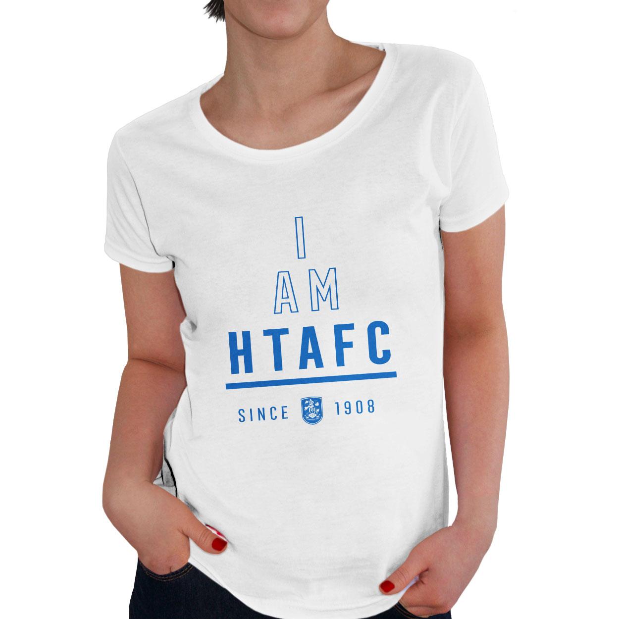 Huddersfield Town I Am Ladies T-Shirt