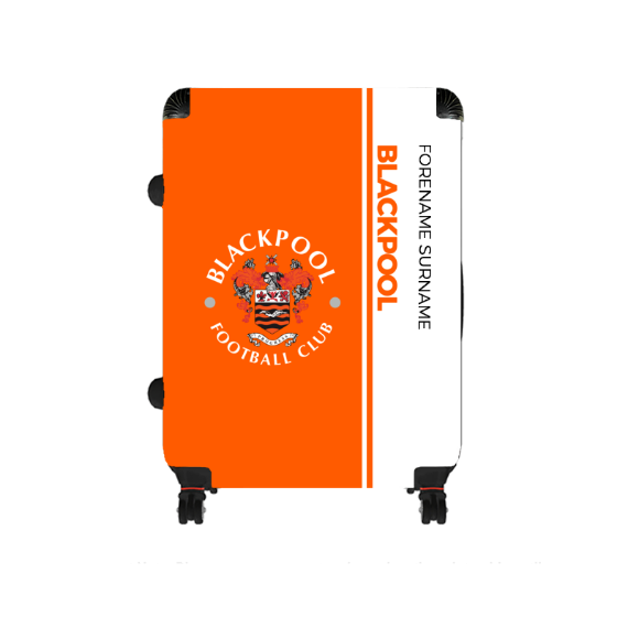 Blackpool Crest Large Suitcase