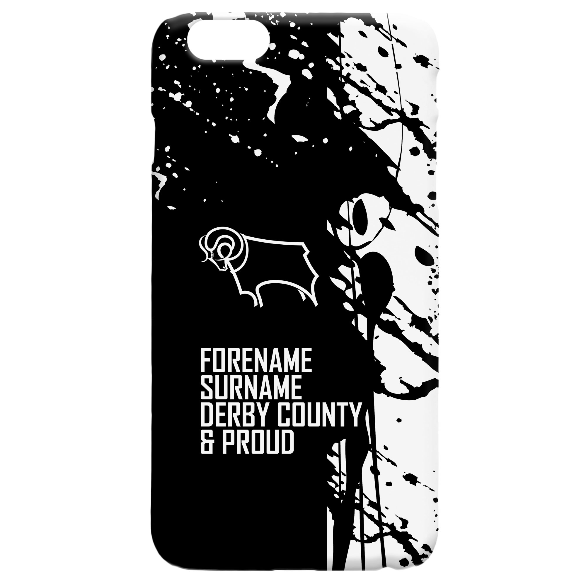 Derby County Proud Hard Back Phone Case
