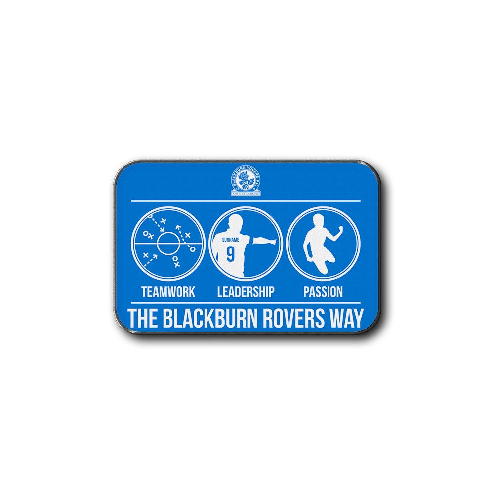 Blackburn Rovers FC Way Rear Car Mat