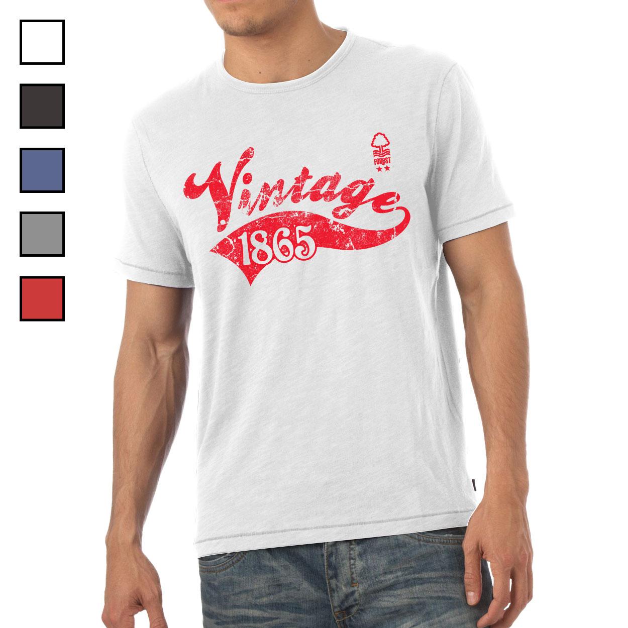 Nottingham Forest FC Mens Vintage T-Shirt