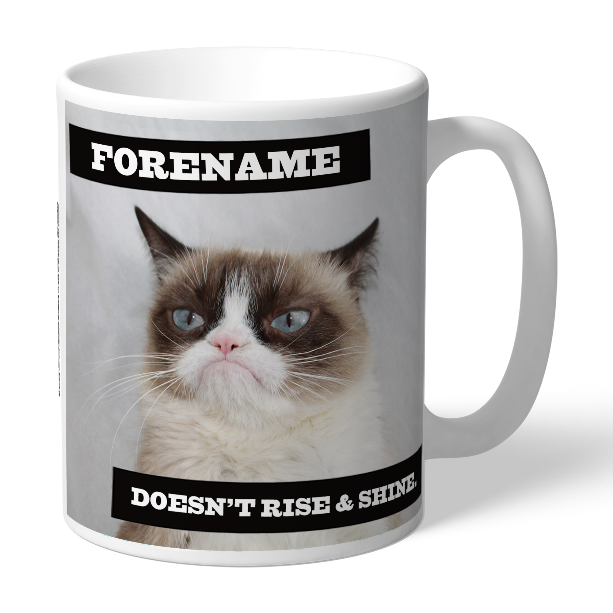 Grumpy Cat - Rise and Shine Mug