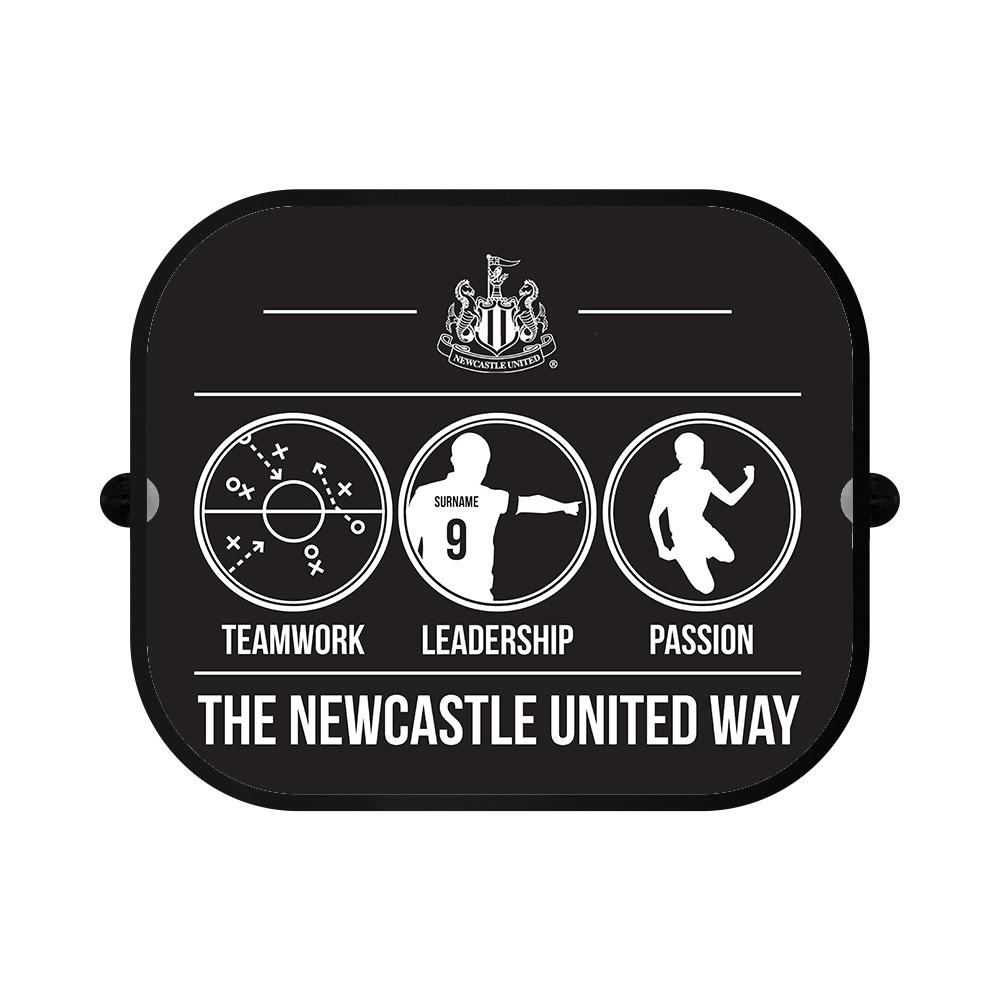 Newcastle United FC Way Car Sunshade