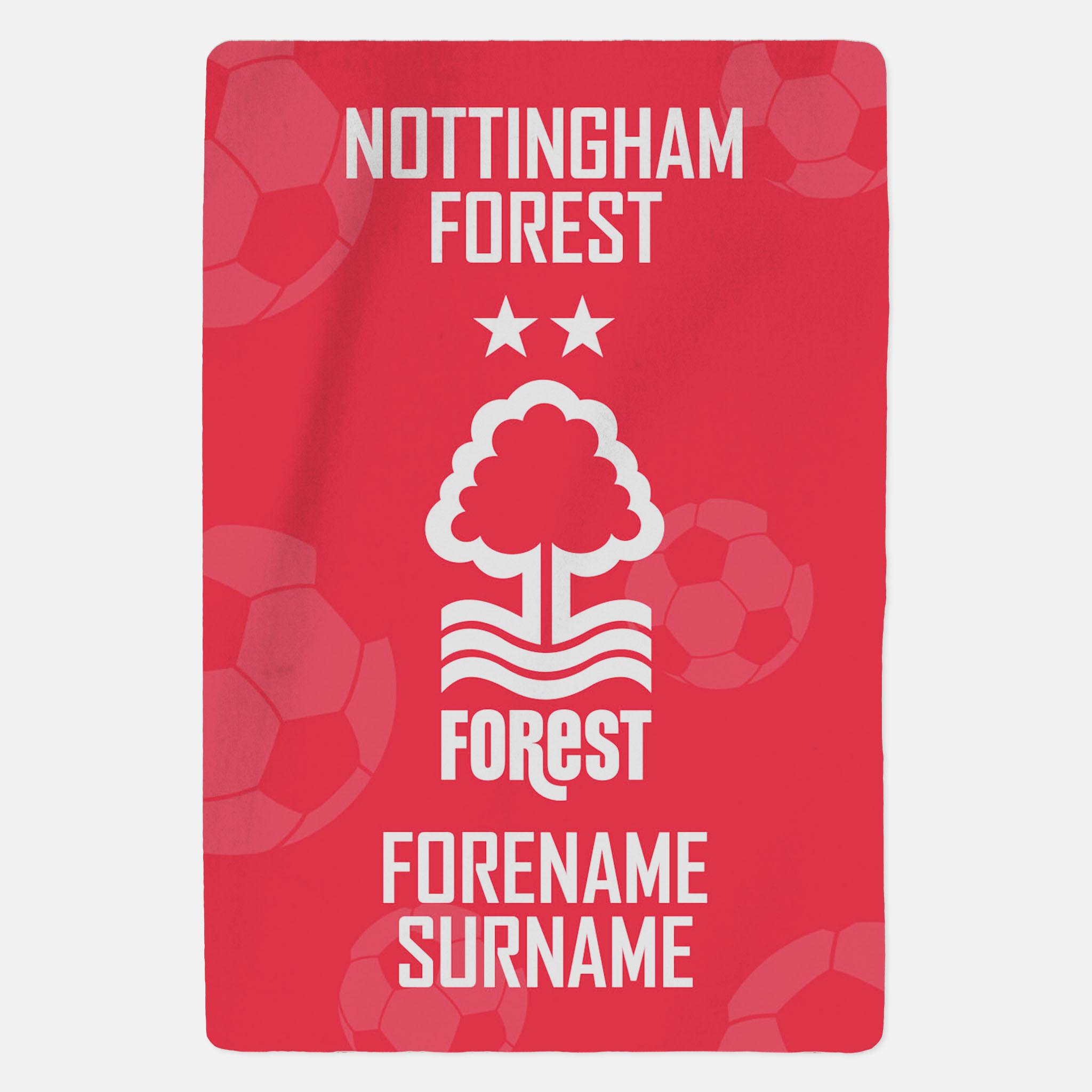 Nottingham Forest FC Crest Blanket