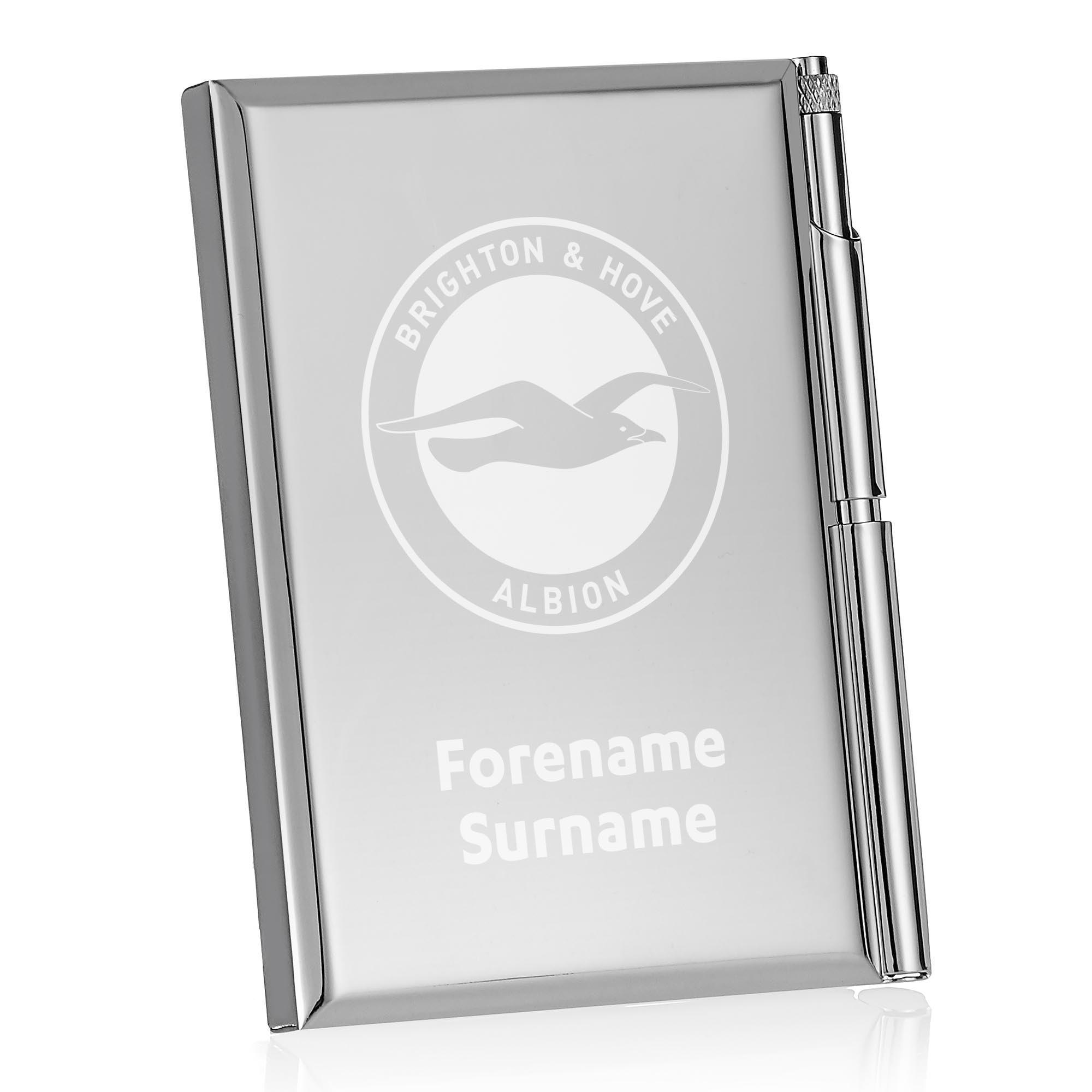 Brighton & Hove Albion FC Crest Address Book