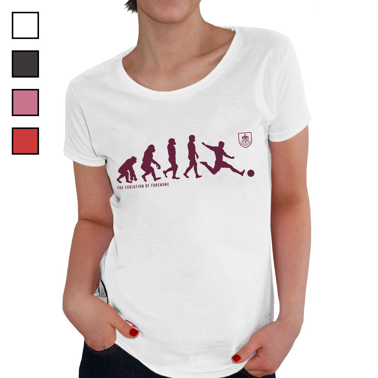 Burnley FC Evolution Ladies T-Shirt