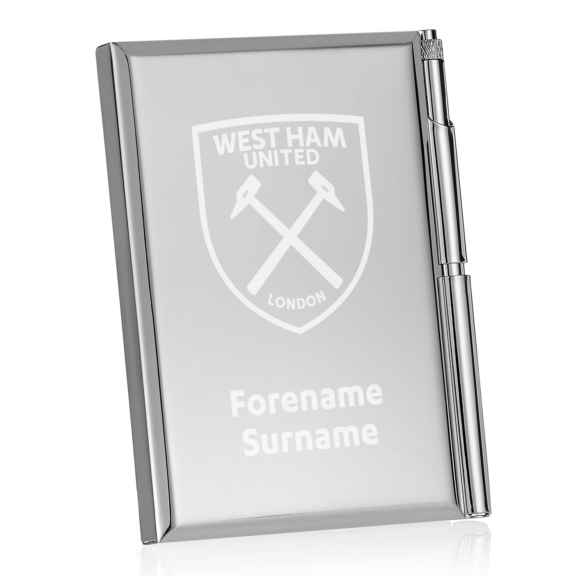 West Ham United FC Crest Address Book