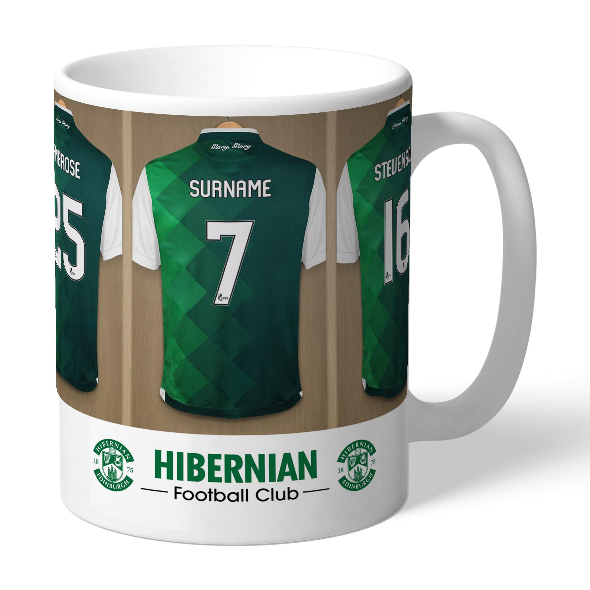 Hibernian FC Dressing Room Mug
