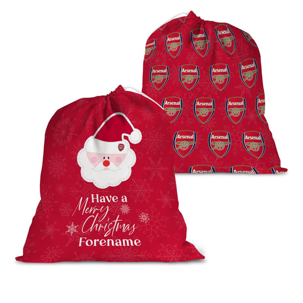 Arsenal FC Merry Christmas Santa Sack