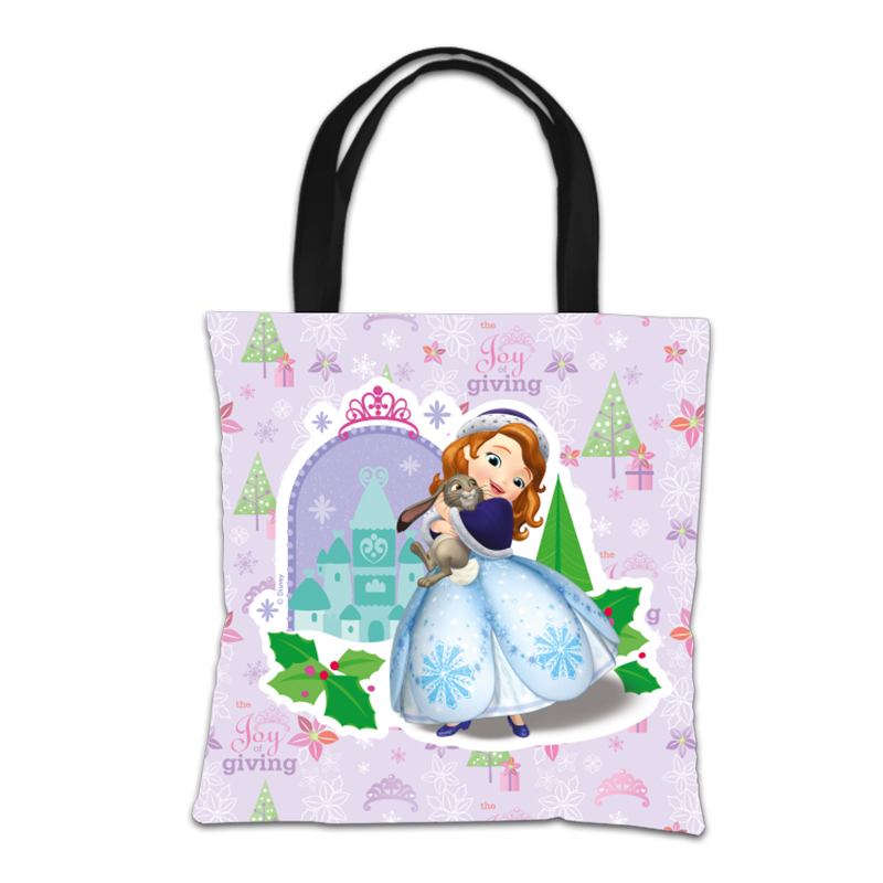 Disney Sofia The First Christmas Design Tote Bag
