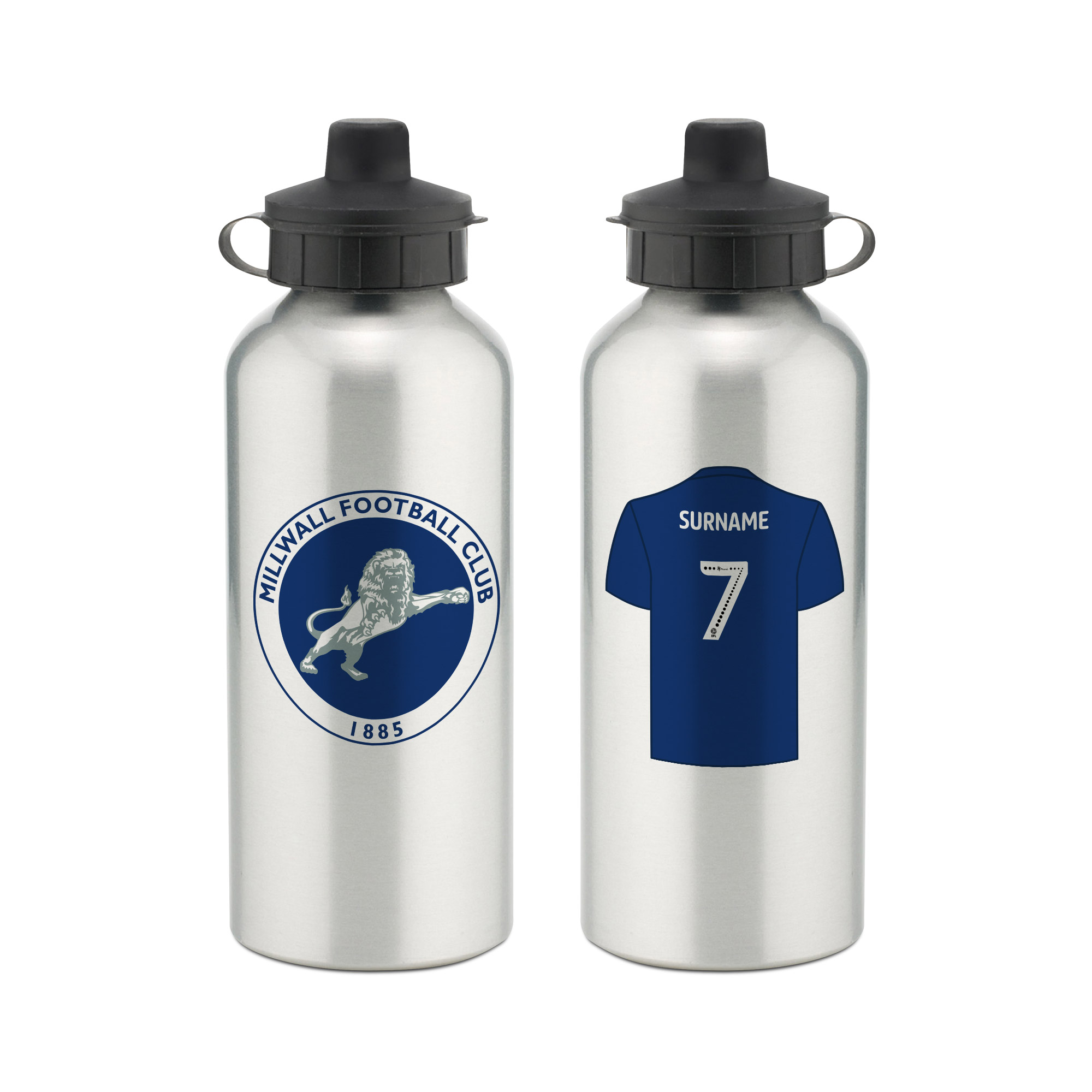 Millwall FC Aluminium Water Bottle
