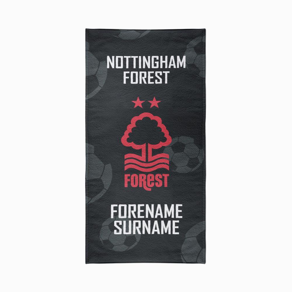Nottingham Forest FC Crest Design Towel - 80cm x 160cm