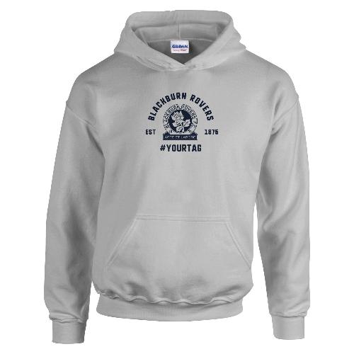 Blackburn Rovers FC Vintage Hashtag Hoodie