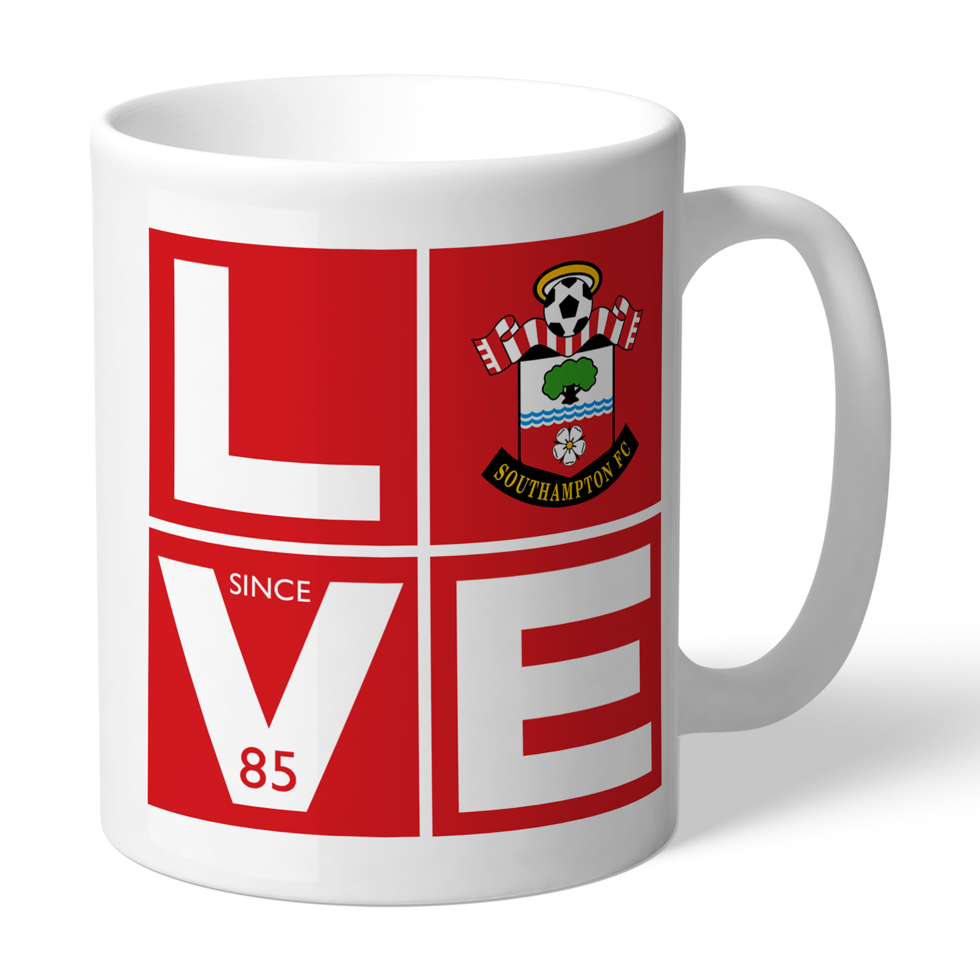 Southampton FC Love Mug