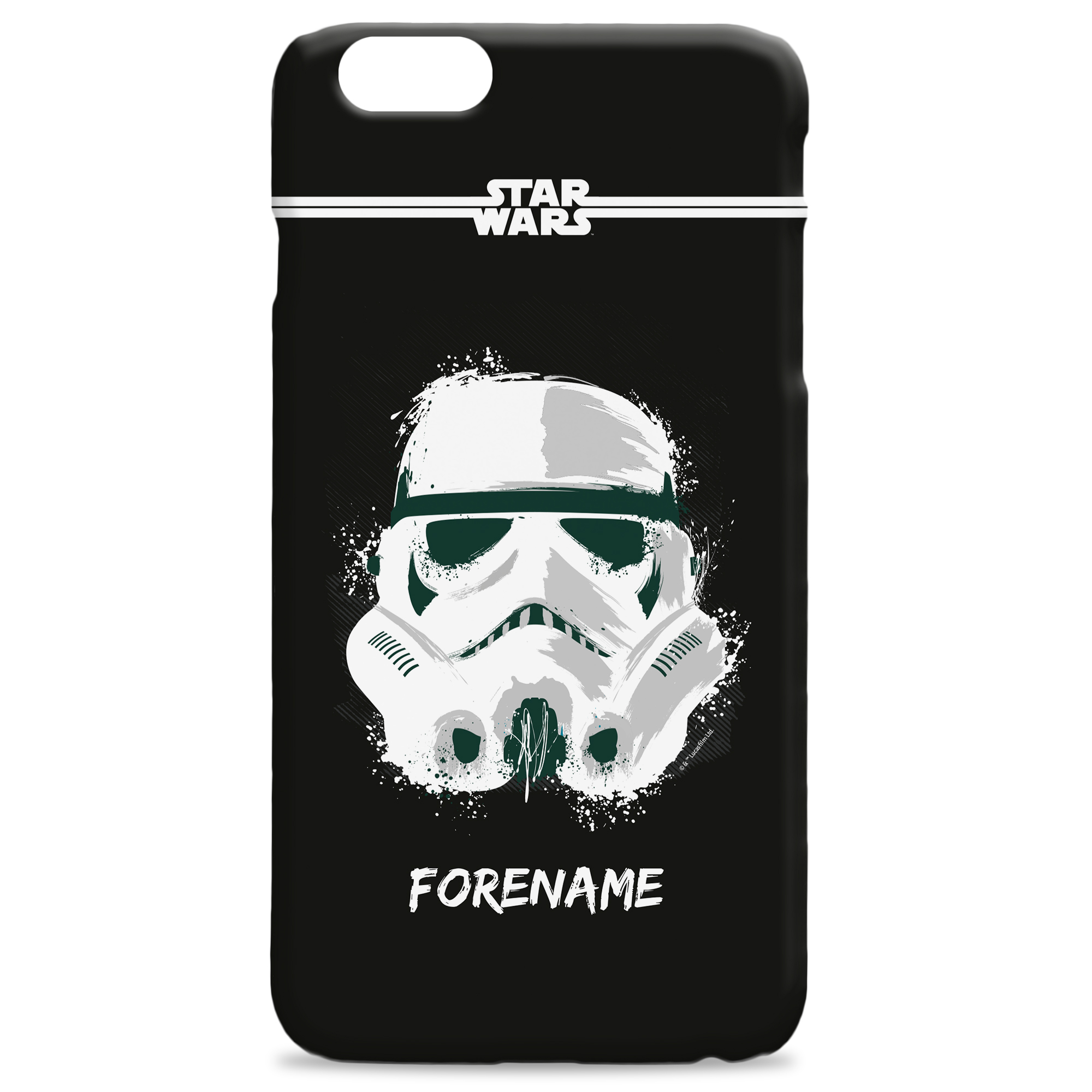 Star Wars Storm Trooper Paint iPhone Phone Case