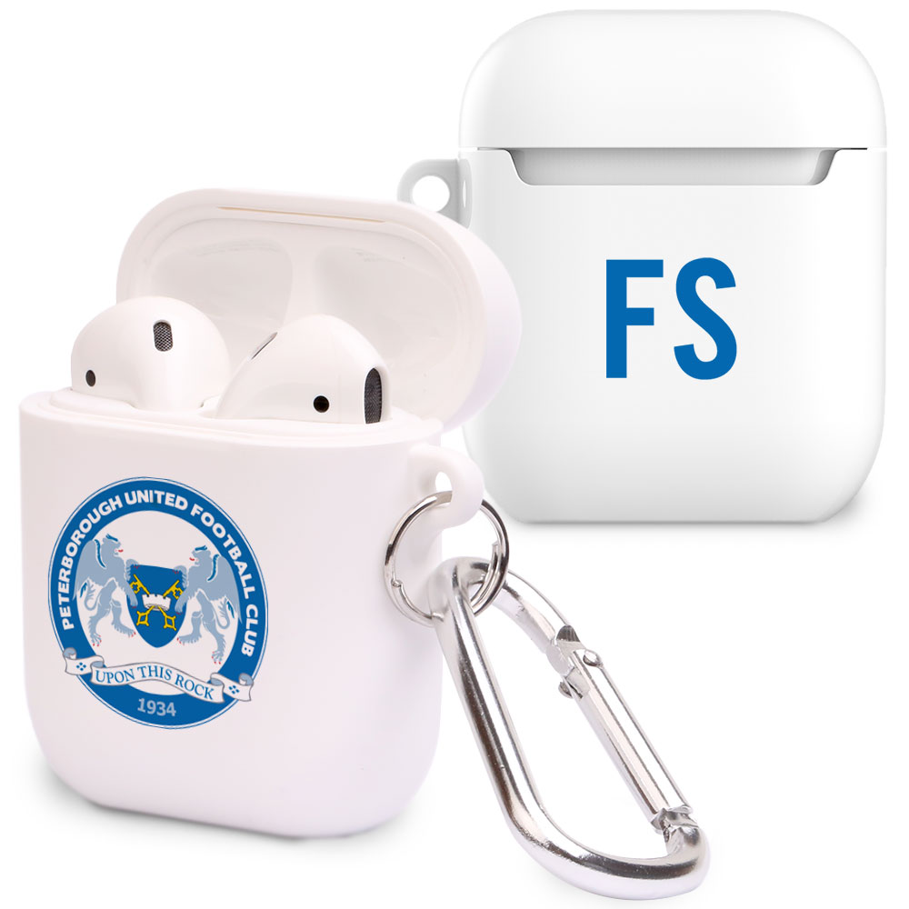 Peterborough United FC Initials Airpod Case