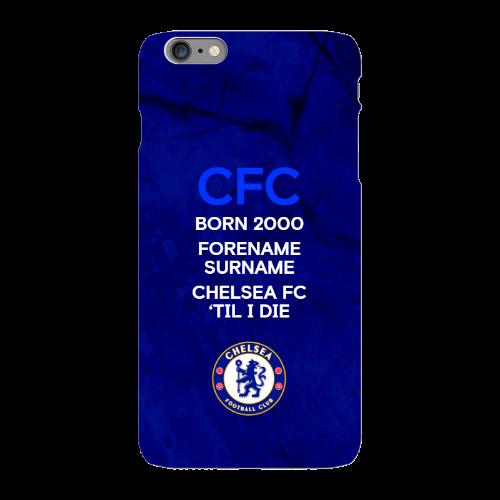 Chelsea FC 'Til I Die iPhone 6 Plus Phone Case
