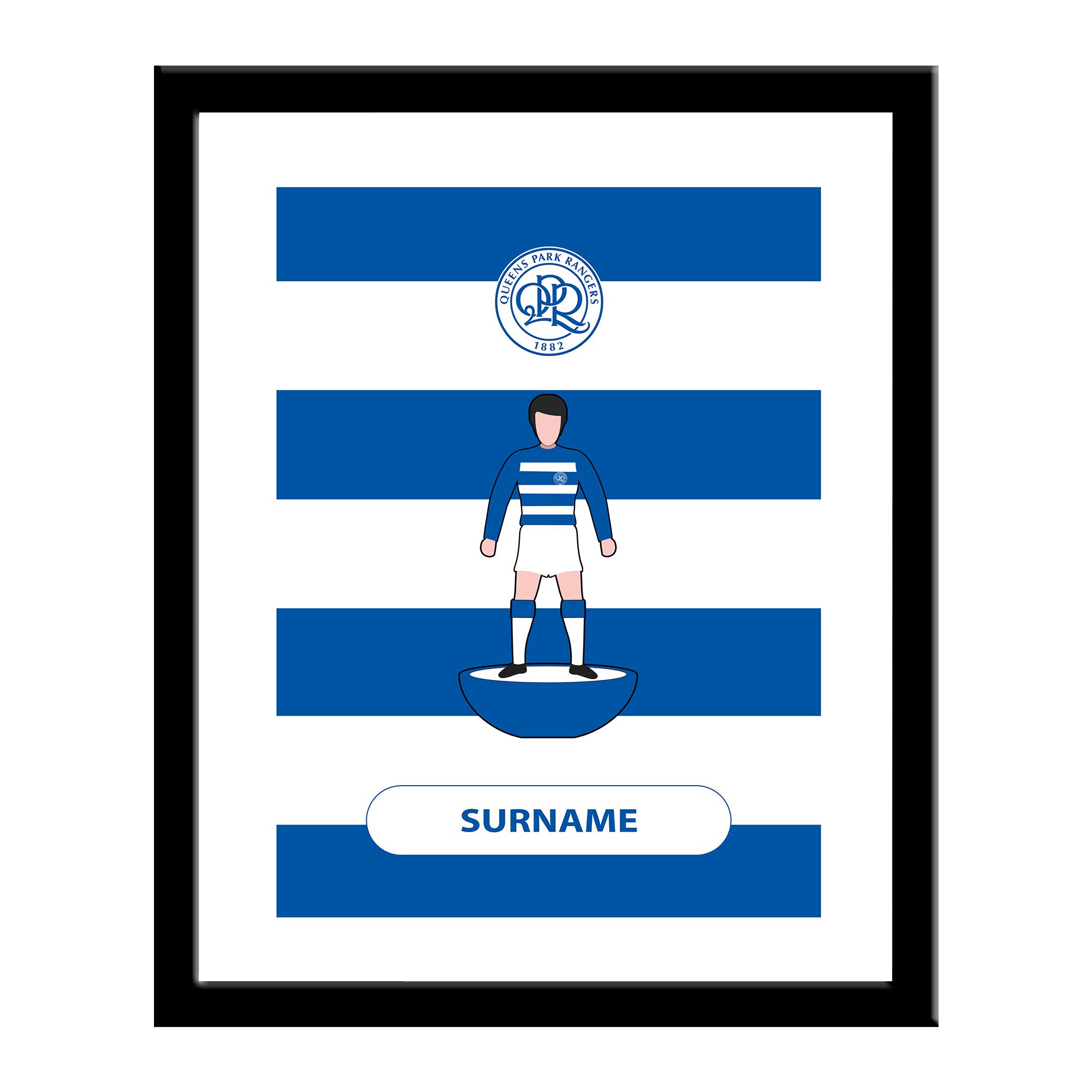 Queens Park Rangers FC Player Figure Print