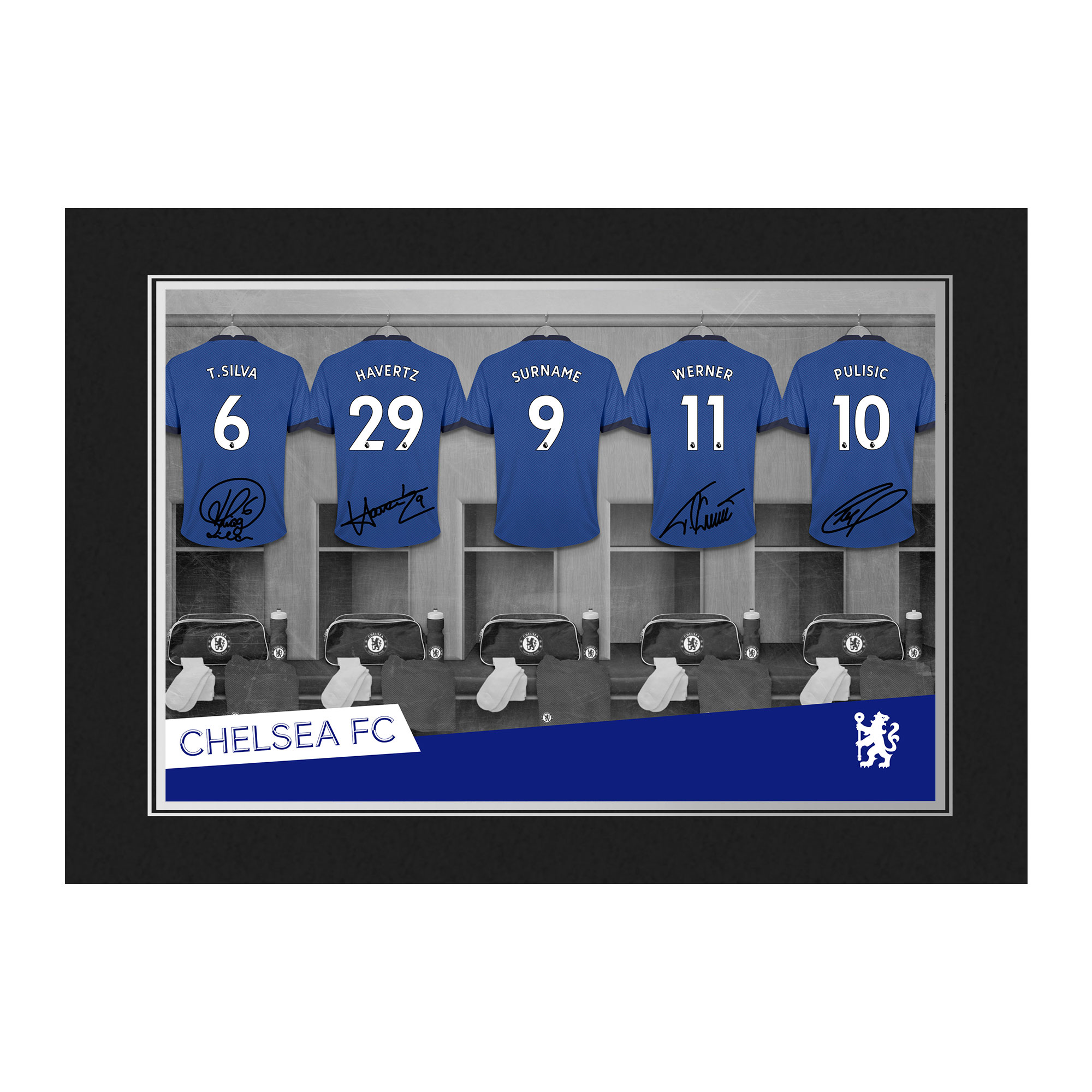 Chelsea FC 9x6 Dressing Room Photo Folder