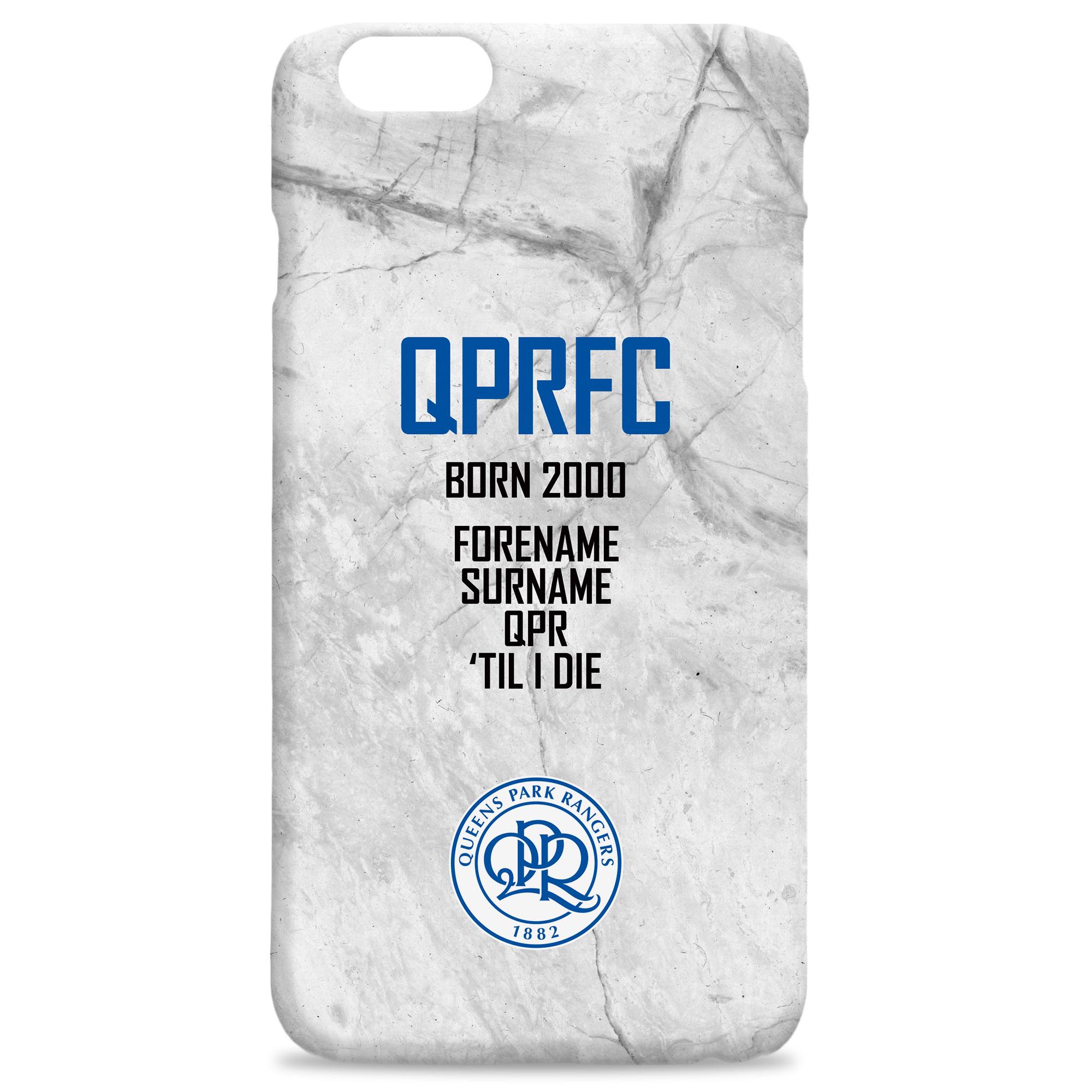 QPR FC 'Til I Die Hard Back Phone Case