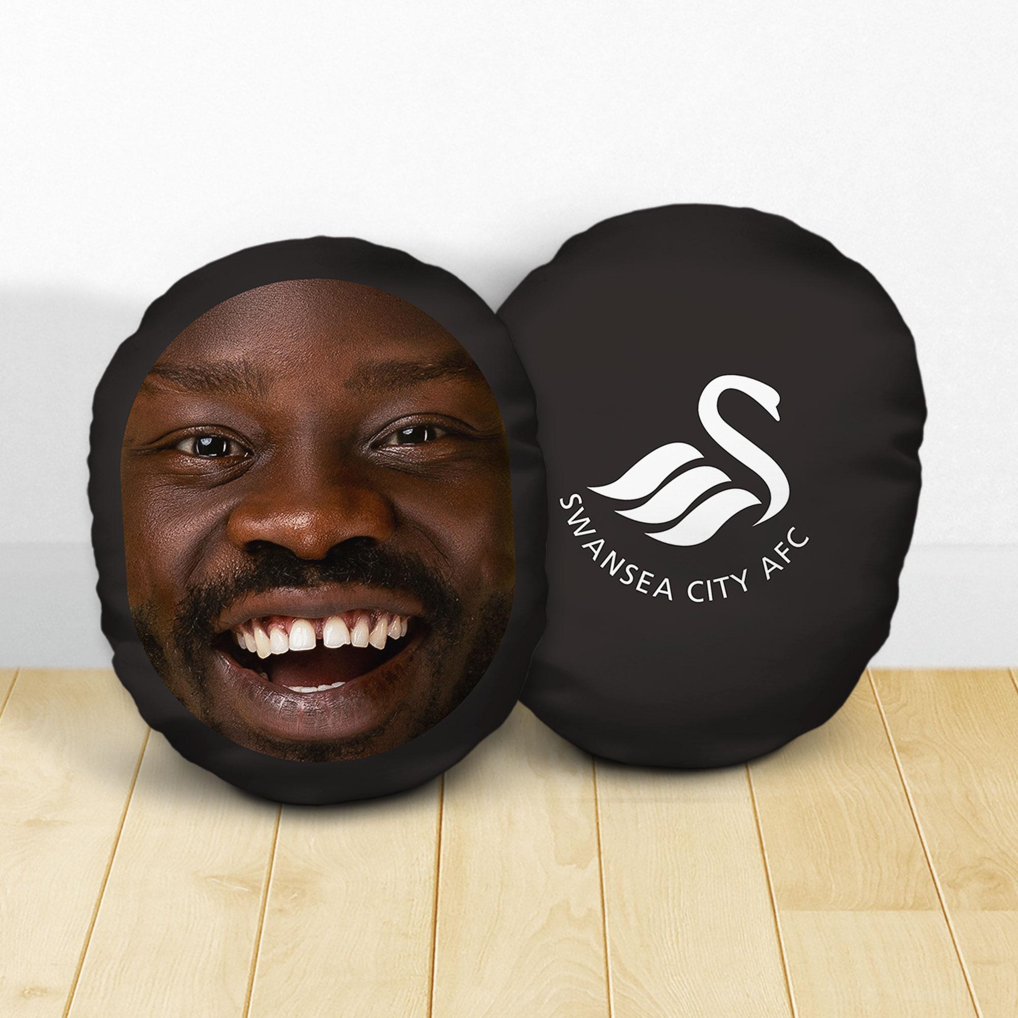 Personalised Swansea City AFC Crest Mush Cush