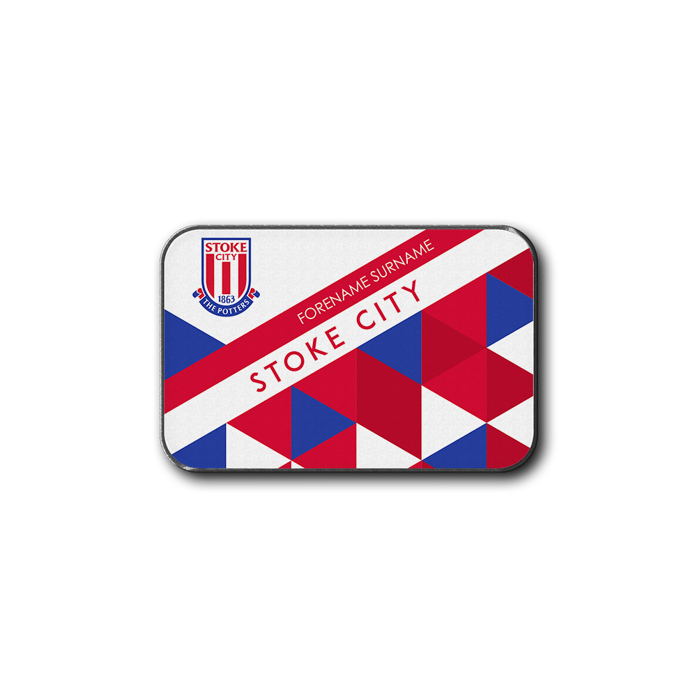 Stoke City FC Patterned Rear Car Mat
