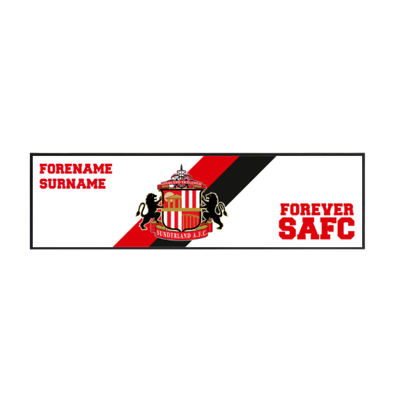 Sunderland Forever Large Bar Runner