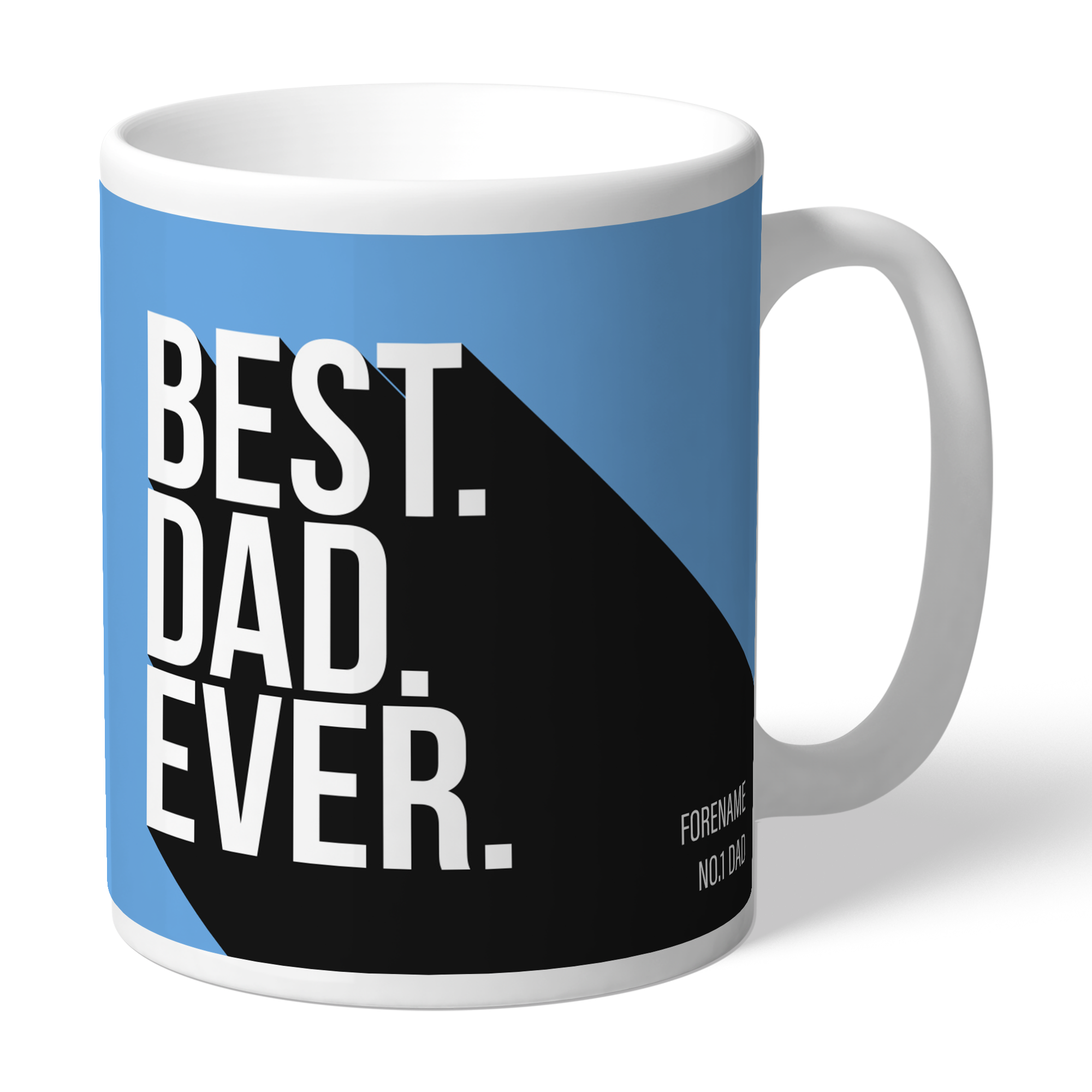 Manchester City FC Best Dad Ever Mug