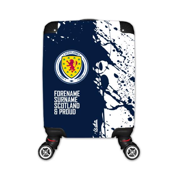 Scotland Proud Kid's Suitcase