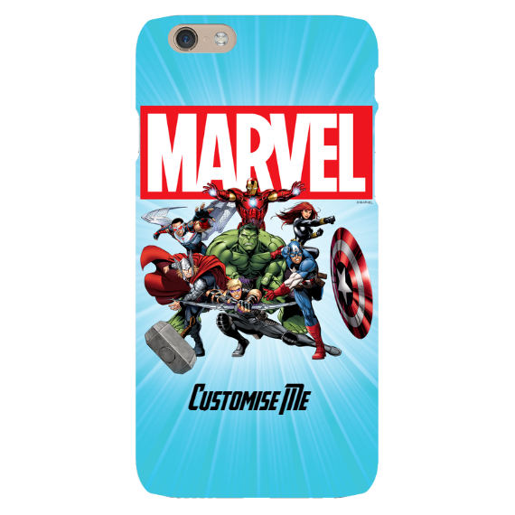 Marvel Avengers Group iPhone 6 Clip Case