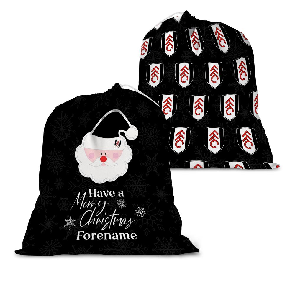 Fulham FC Merry Christmas Santa Sack