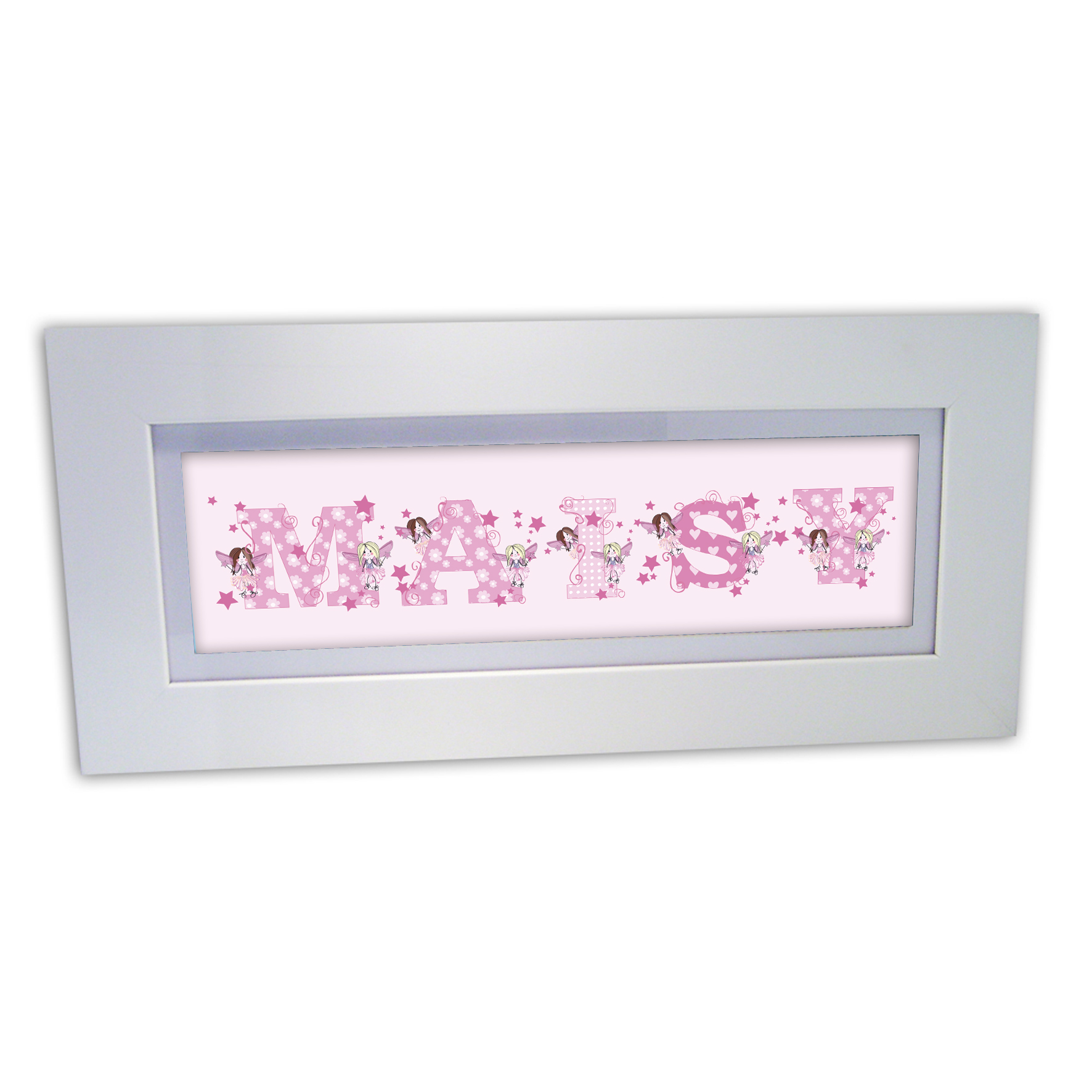 Personalised Fairy Name Frame
