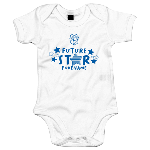 Cardiff City Future Star Baby Bodysuit