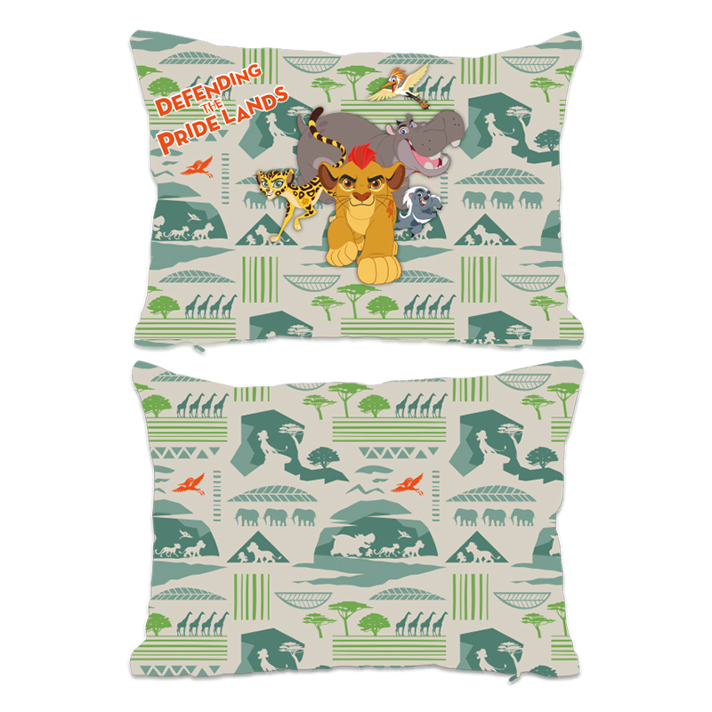 Disney The Lion Guard Group Defending The Pride Lands Extra Large Fiber Cushion