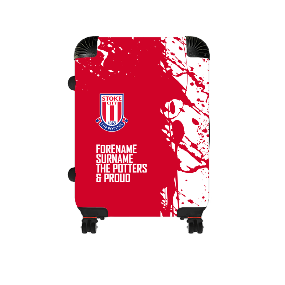 Stoke City FC Proud Cabin Suitcase