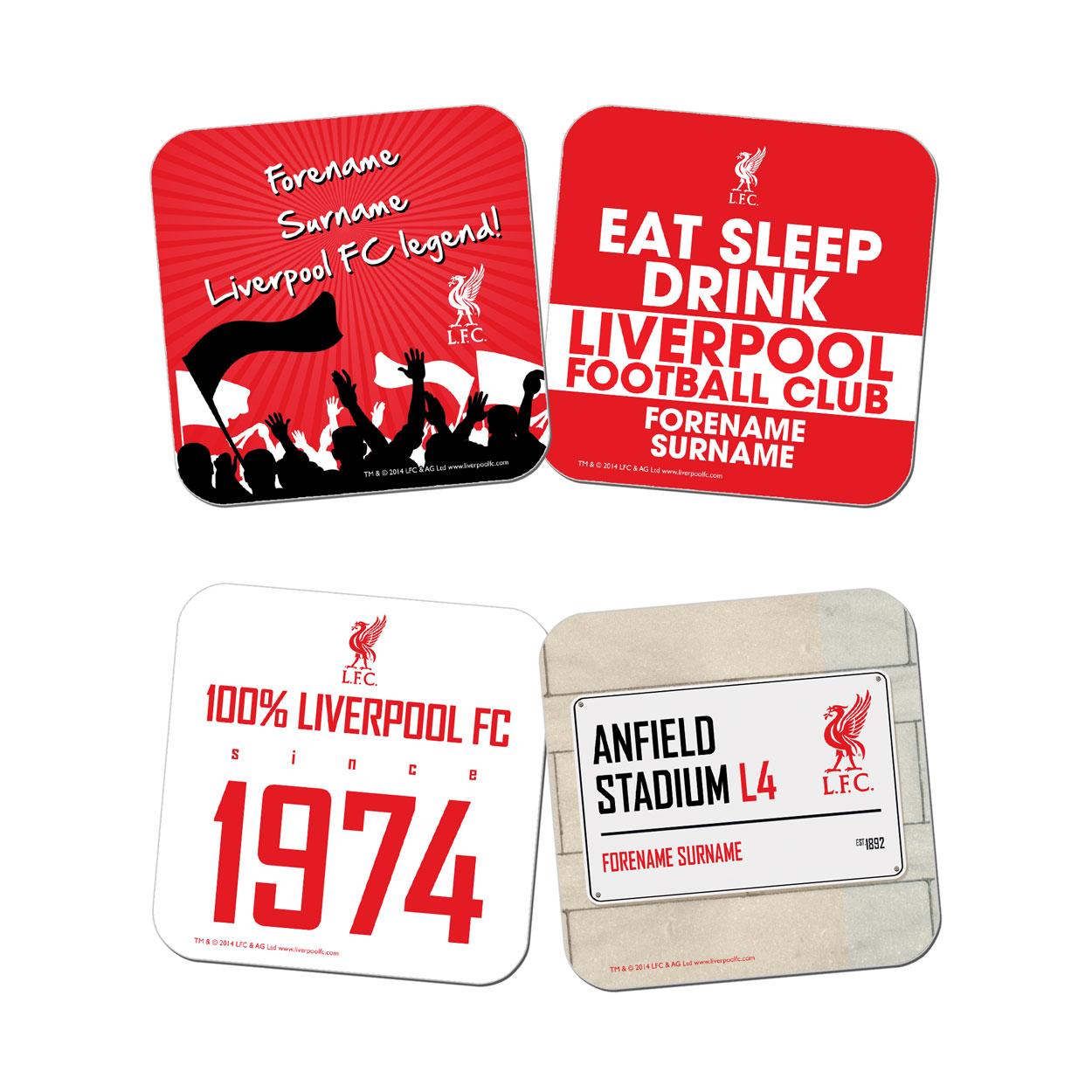 Liverpool FC Coasters