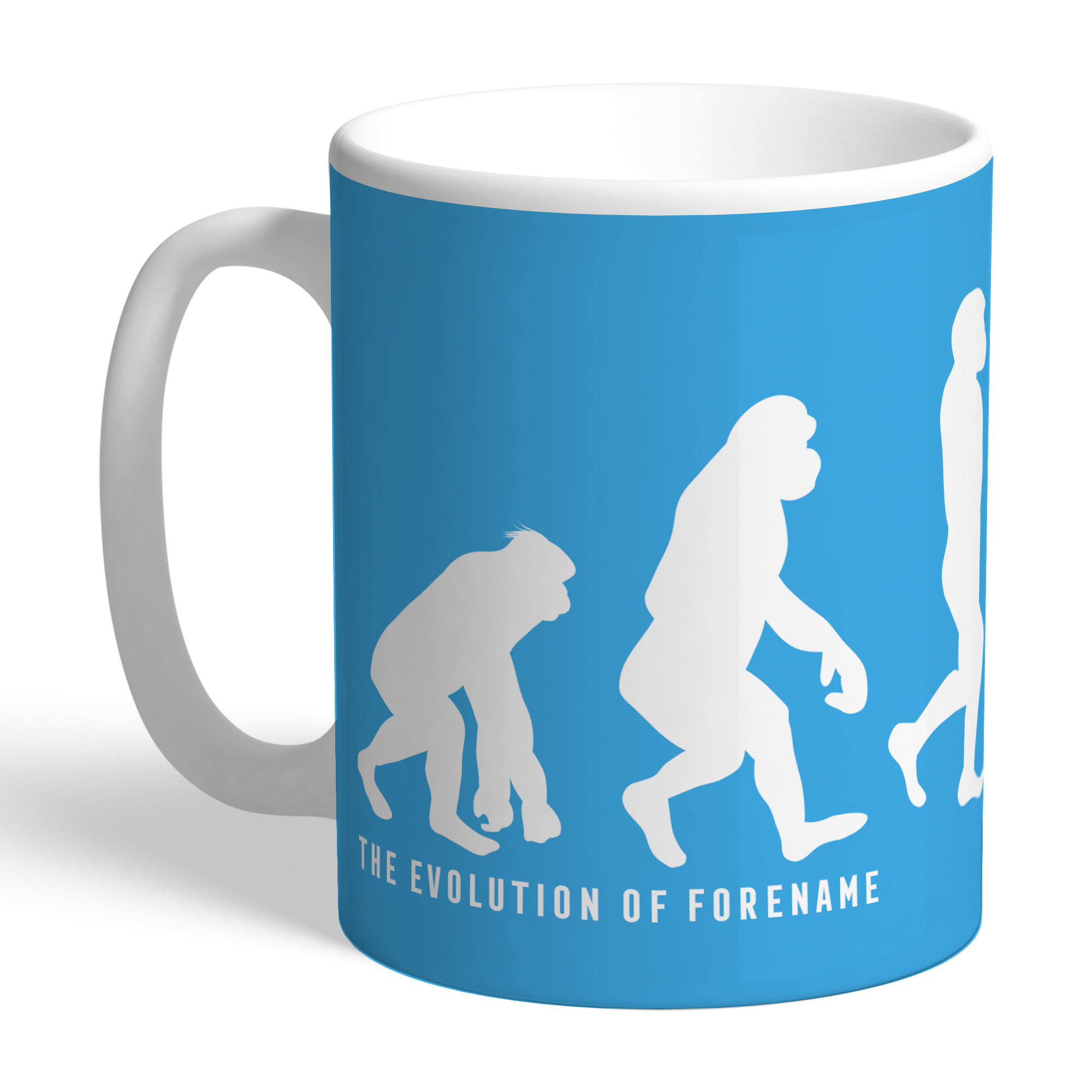 Manchester City FC Evolution Mug