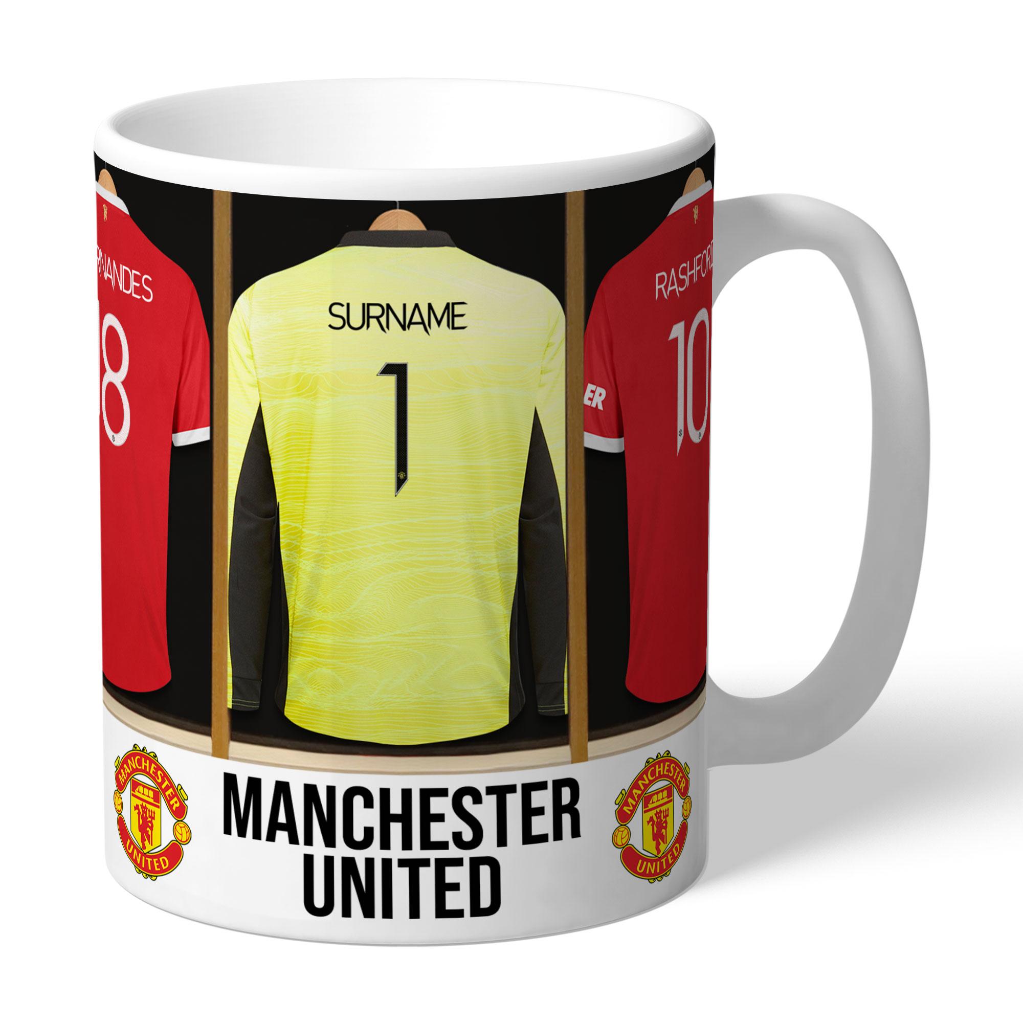 Manchester United FC Goalkeeper Dressing Room Mug