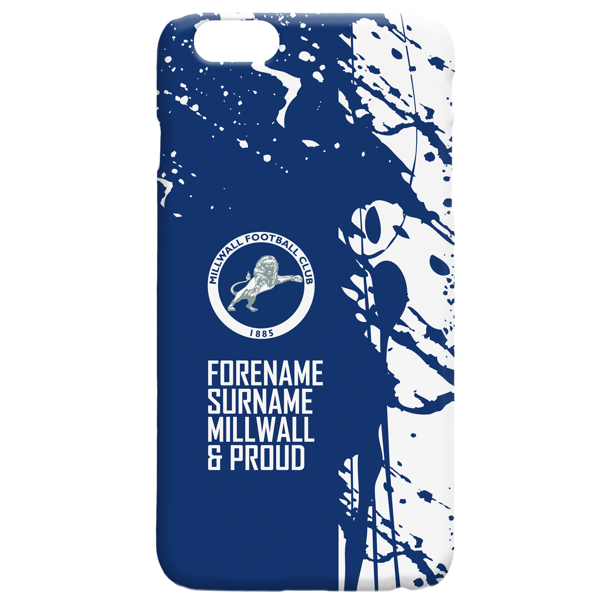 Millwall FC Proud Hard Back Phone Case