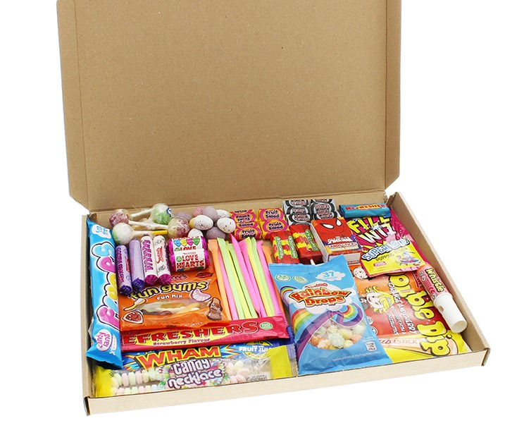 Retro Sweet Mail Order Box